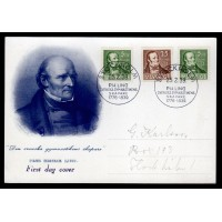 F.318-319, PH Ling, STOCKHOLM 25-2-39, FDC