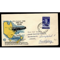 Australien, First Tasman Air Crossing, FDC
