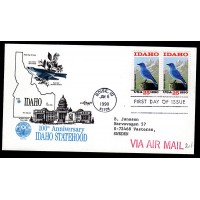 USA, 100th Anniversary Idaho Statehood