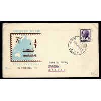Australien, Foreign Surface Rate, FDC