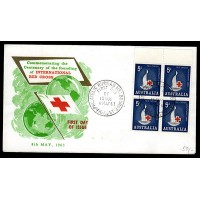 Australien, International Red Cross, FDC