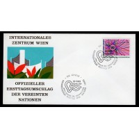 FN - G85, Genevé - World Communications Year FDC